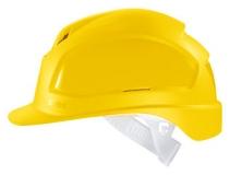 Каска защитная «Феос» с текстильным оголовьем (9772120) желтая