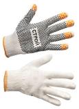 Перчатки трикотажные «Строй» с ПВХ-покрытием ладони (10 класс)