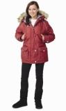 Куртка Аляска женская, бордо