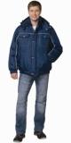 Куртка Атлантис короткая мужская синяя с СОК