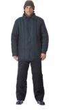 Куртка утеплённая (диагональ, 2,6 кг ваты) чёрная