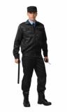 Костюм Вымпел: куртка, брюки (ткань смесовая) черный