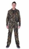 Костюм Охота СТ : куртка короткая, брюки камуфлированные
