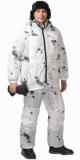 Костюм Стелс: куртка длинная, брюки камуфляж Клякса