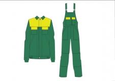 Рабочий костюм Орион (куртка+полукомбинезон)