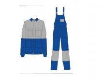 Летний костюм Флагман (куртка и полукомбинезон)