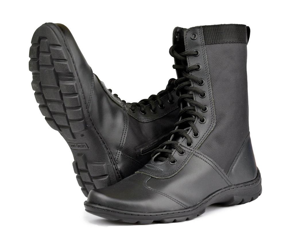Ботинки с высоким берцем комбинированные Extrime NEW на молнии