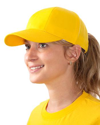 Кепи-бейсболка (желтая)