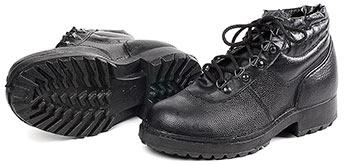 Ботинки кожаные облегченные с металлическим подноском «Стандарт-М»
