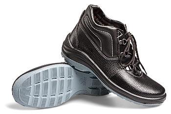 Ботинки кожаные женские «Аврора-М» с металлическим подноском