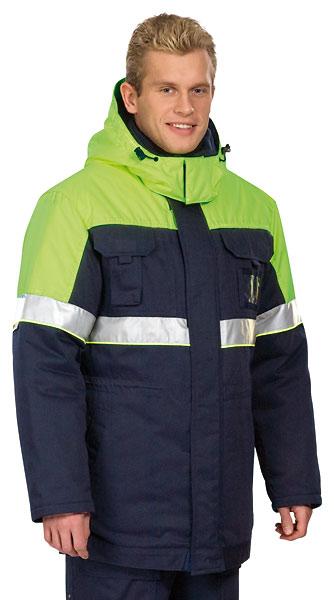 Куртка мужская утепленная «Сатурн» (ТА-05)