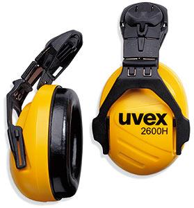 Наушники противошумные с креплением на каску «Эйрвинг» Uvex (2600135)
