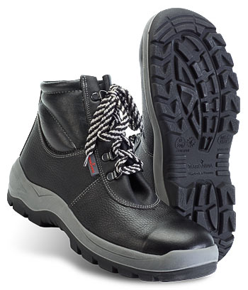 Ботинки кожаные Техногард® с металлической стелькой, МУН 200 Дж