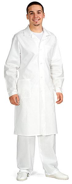 Халат мужской белый из ткани «Бязь»
