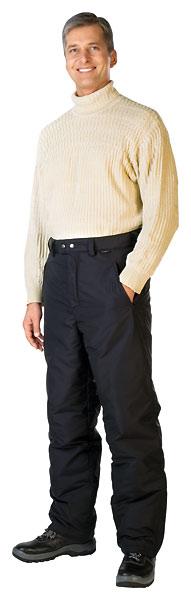 Брюки мужские утепленные «Винтер» с высоким поясом с регулировкой по талии