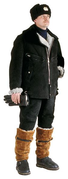 Куртка меховая нагольная для лётного состава