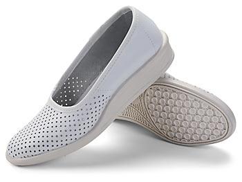 Туфли кожаные женские с перфорацией