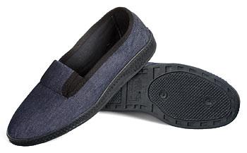 Туфли мужские текстильные