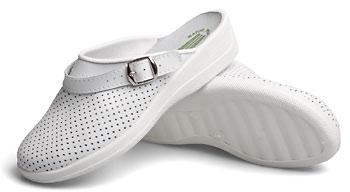 Туфли «Сабо» женские (белые)