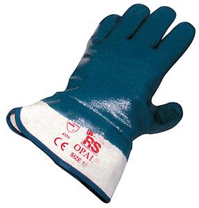 Перчатки-краги «Опал 800» с полным нитриловым покрытием