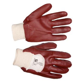 Перчатки «Гранат» с ПВХ-покрытием ладони