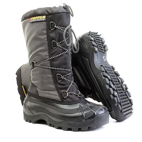 Обувь комбинированная «TOPPER» (шнурки) СТУ-033С (СИБИРЬ)