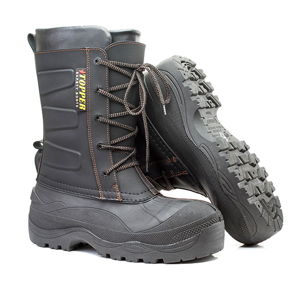 Обувь комбинированная с полимерным низом (МБС, К, Щ) «TOPPER» (антипрокольная  полимерно-текстильная  стелька 1200 Н, композитный  подносок 200 Дж, КОЖА) Надым
