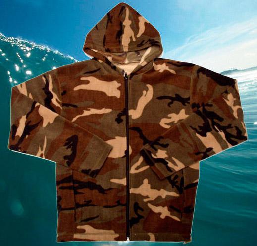Куртка флисовая с капюшоном ФЛИС 1 (с фиксаторами)