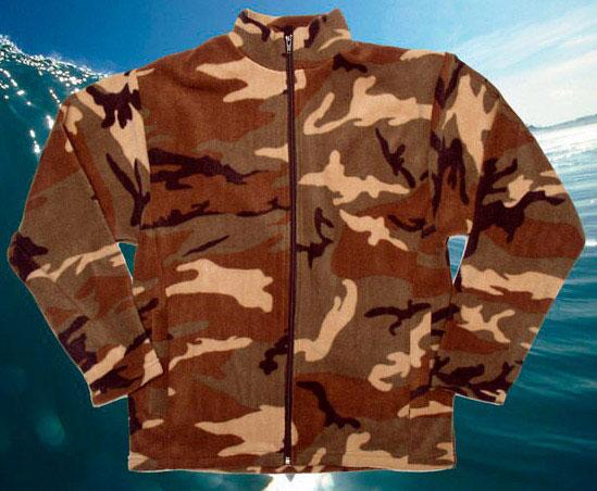 Куртка флисовая ФЛИС 1 (с фиксаторами) без капюшона