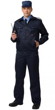 Костюм АЛЬФА: куртка, брюки чёрный
