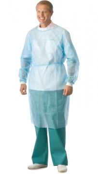 Халат хирургический однократного применения, плотность 40 гр.