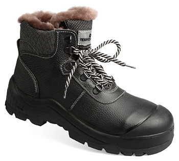 Ботинки женские кожаные Неогард® меховые (подошва – полиуретан и нитрильная резина)