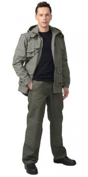 Костюм Мичиган летний: куртка, брюки ткань 100% х/б