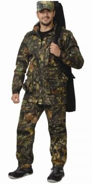 Костюм Охотник-люкс летний: куртка, брюки камуфляж Дубок