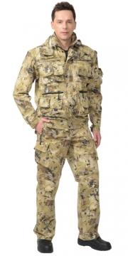 Костюм Тигр летний: куртка, брюки камуфляж Саванна
