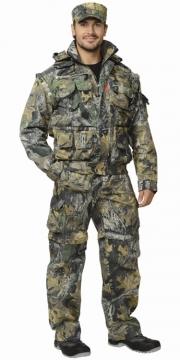 Костюм Тигр летний: куртка, брюки камуфляж Темный лес