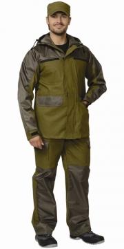 Костюм Эверест: куртка, брюки хаки