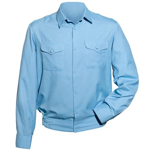 Рубашка форменная для сотрудников МЧС с длинным рукавом