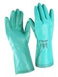 Перчатки химически стойкие нитриловые артикул 8070 кислота (до 80%) и щелочь (до 40%)