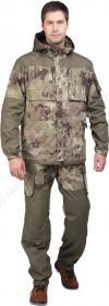 Костюм Перевал камуфлированный (куртка+брюки) для активного отдыха